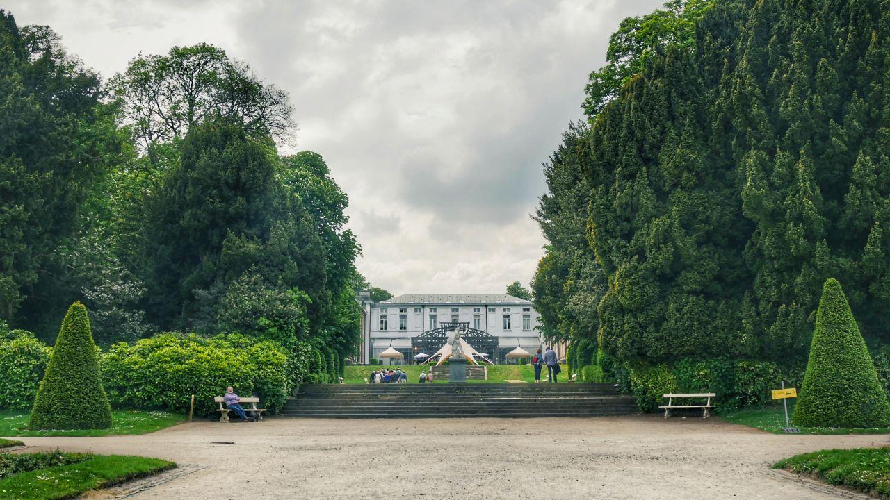 Africamuseum Tervuren BRussel tuinen