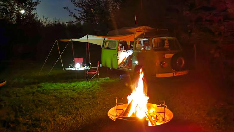 Camptoo en Campspace kampvuur