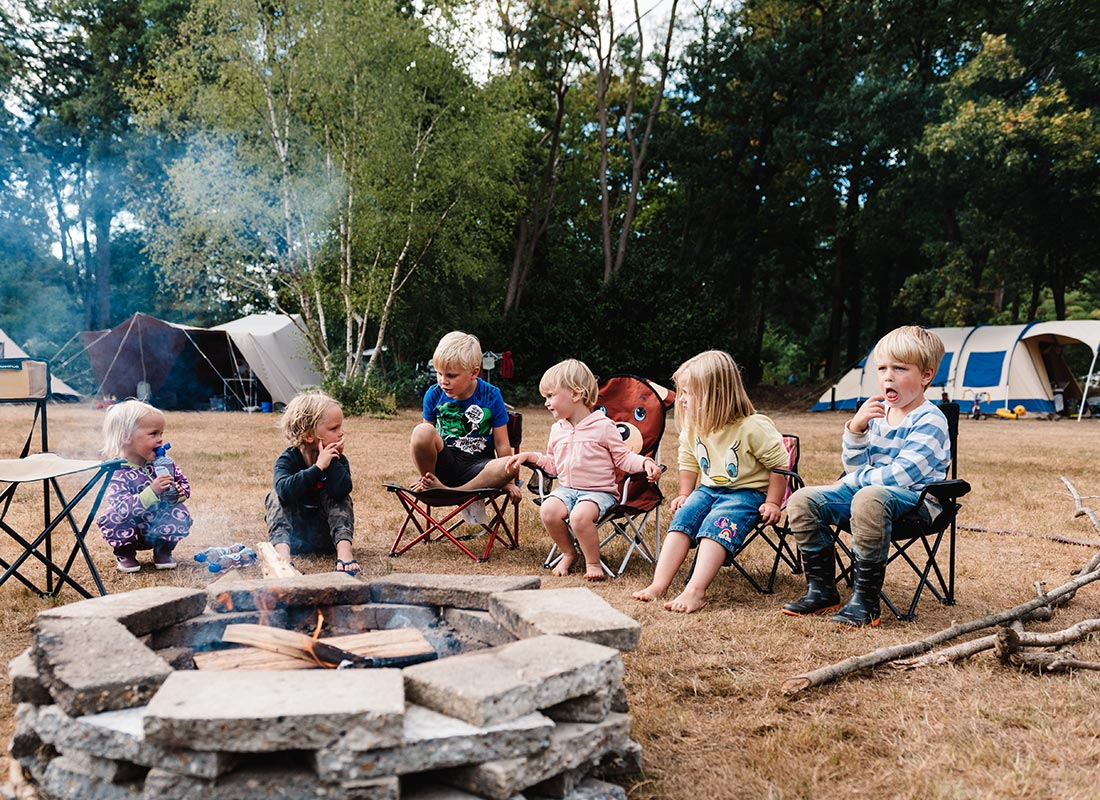 Camping Lolotte Kampvuur Kinderen