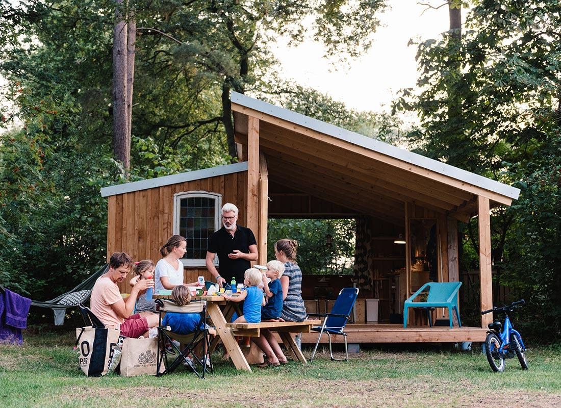 Camping Lolotte La Lo Lotte Huisje 1