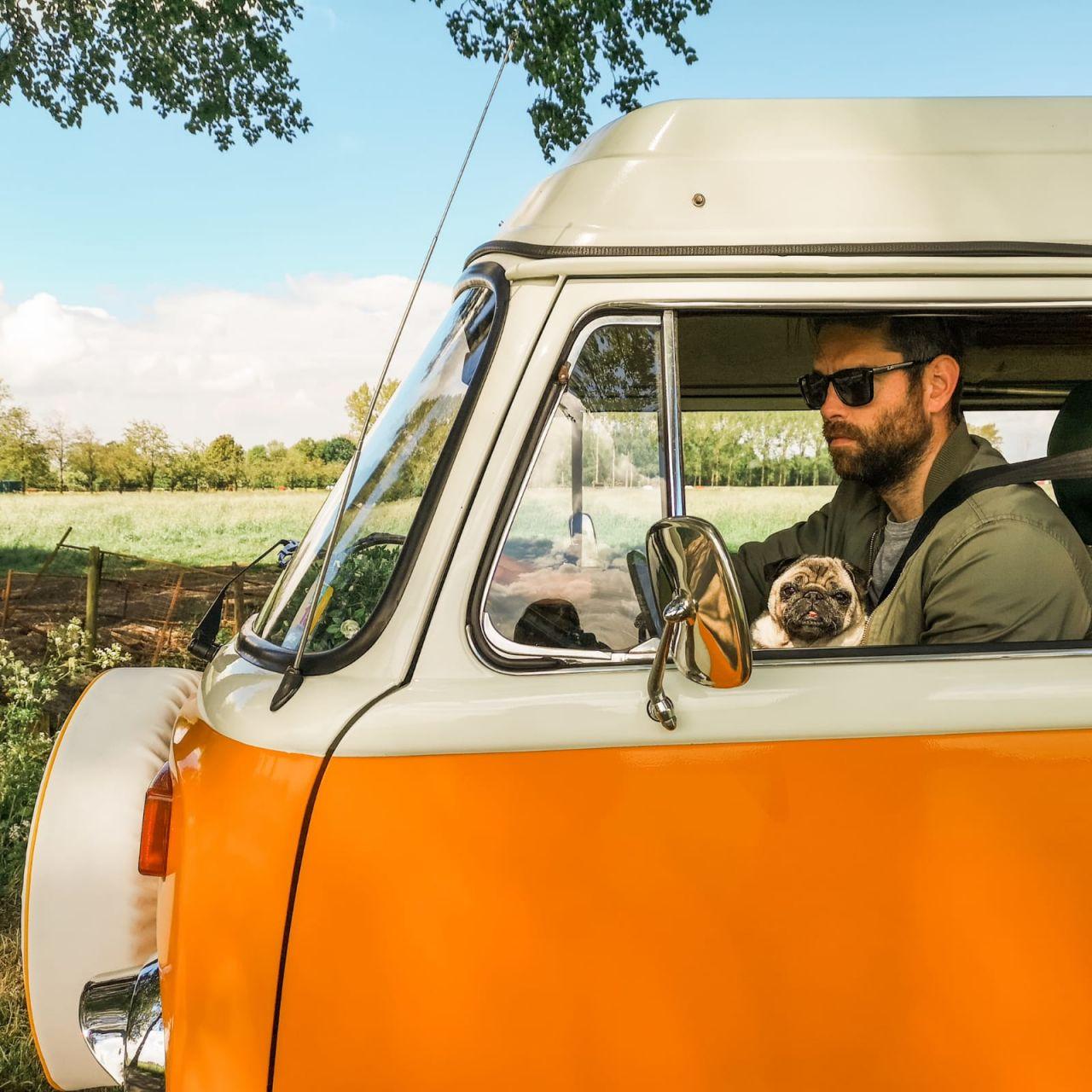 De Volkswagenbus Mr. Orange3