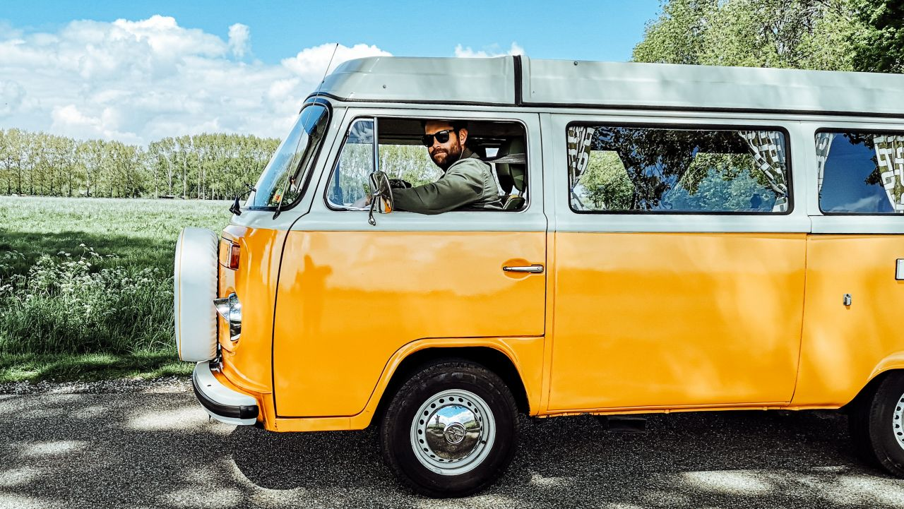 Volkswagenbus Mr. Orange