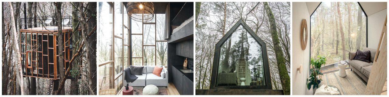 Slô Escape cabins Ardennen Belgie