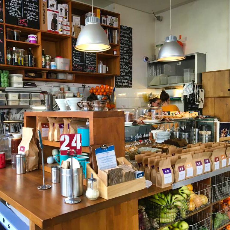 Parijs FOTO 5 BINNENKANT BAR KB COFFEE ROASTERS