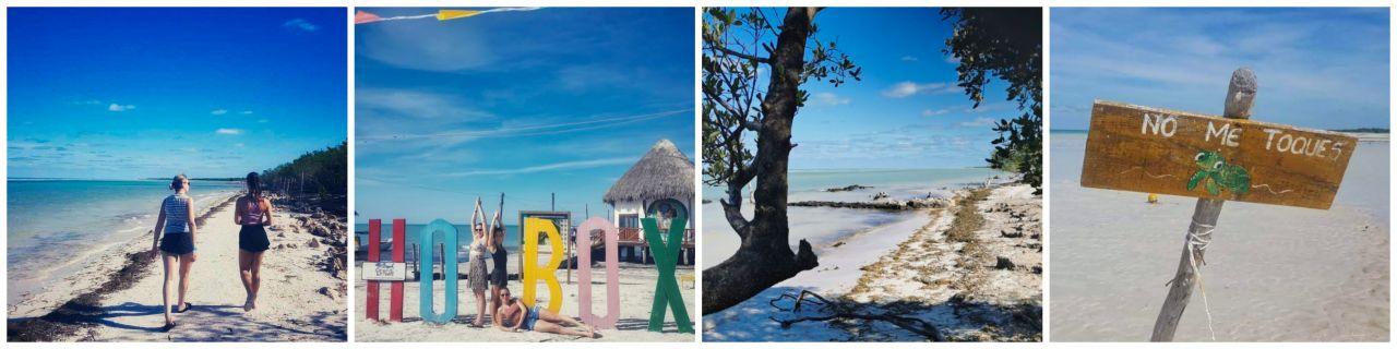 Mexico Isla Holbox strandjes