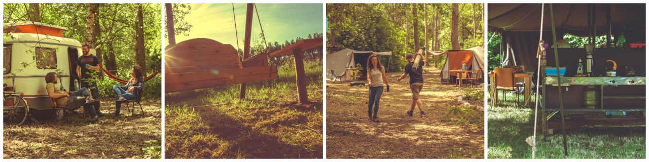 Camping de Wildevier collage