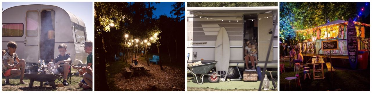 Glamping De Camphanen collage