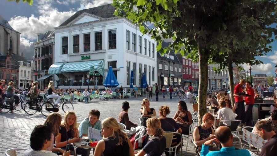 Leukste terras steden soetkees - Foto van het terras ...