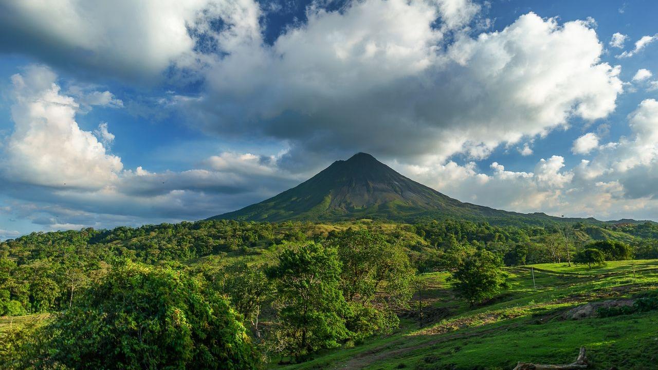 Costa Rica vulkaan