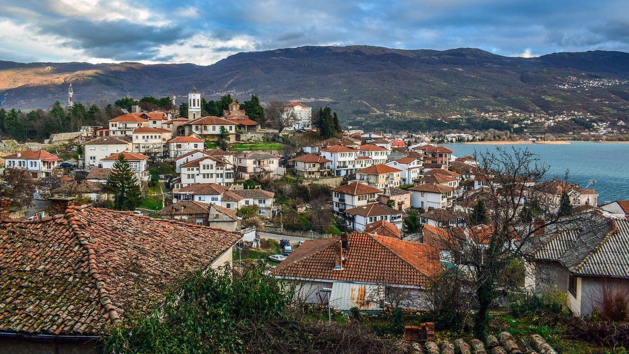 Noord Macedonie Meer van Ohrid