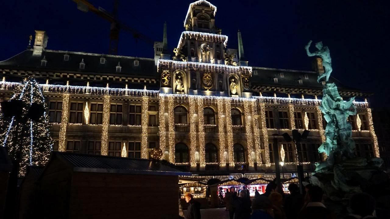 Antwerpen kerst