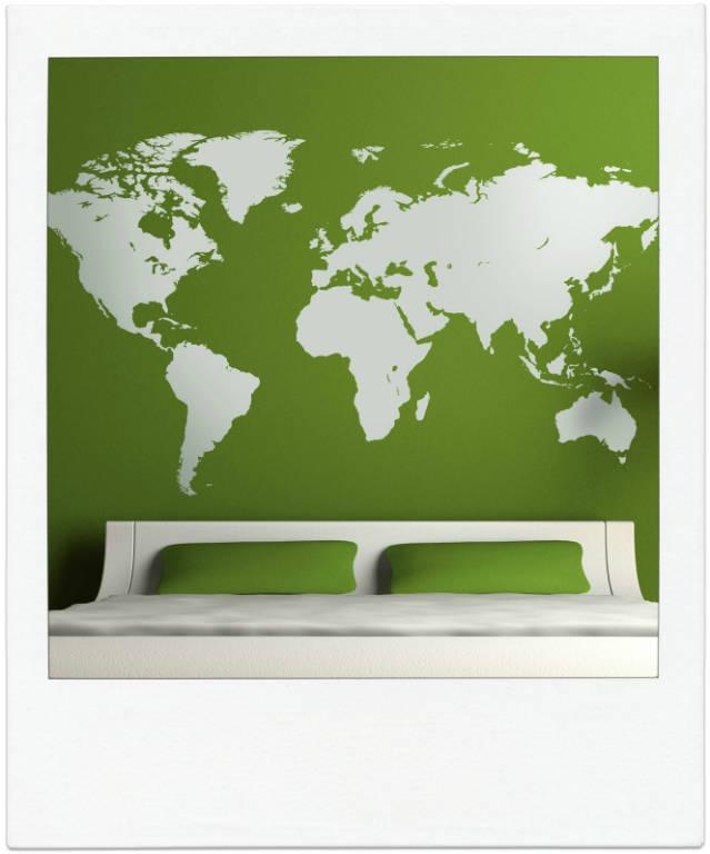 Wereldkaartabstract2