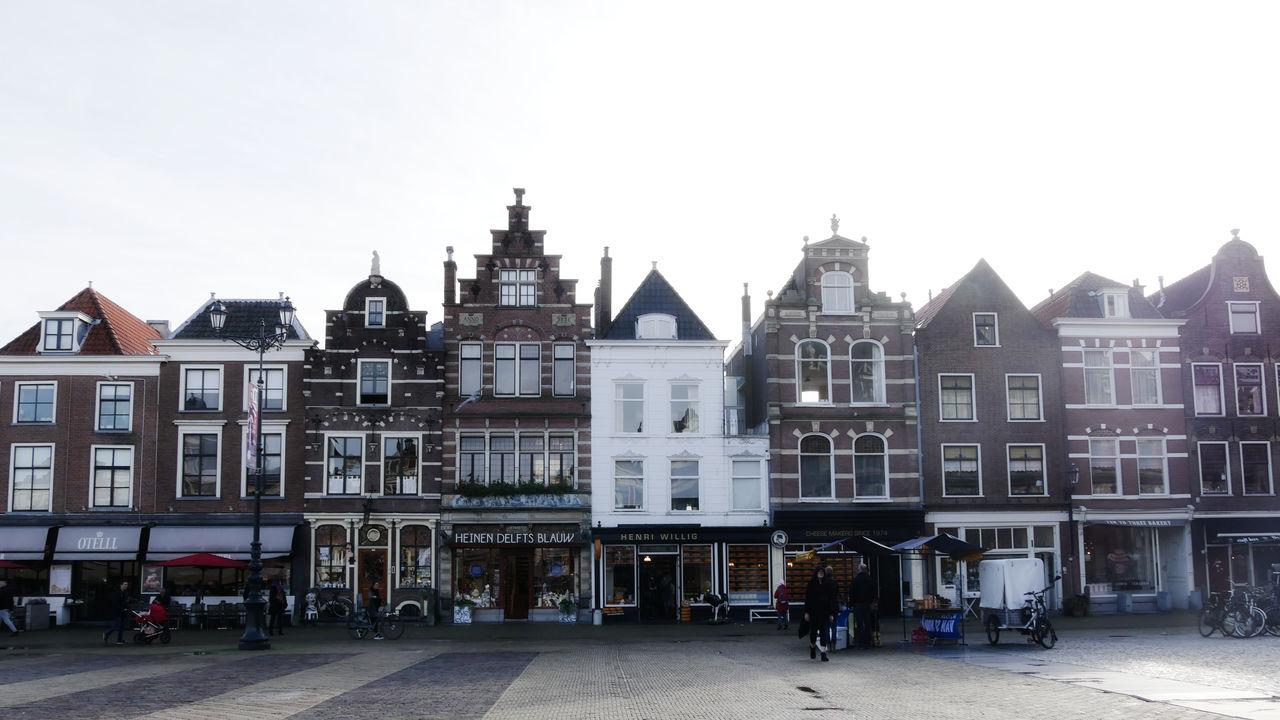 Delft stedentrip Grote Markt