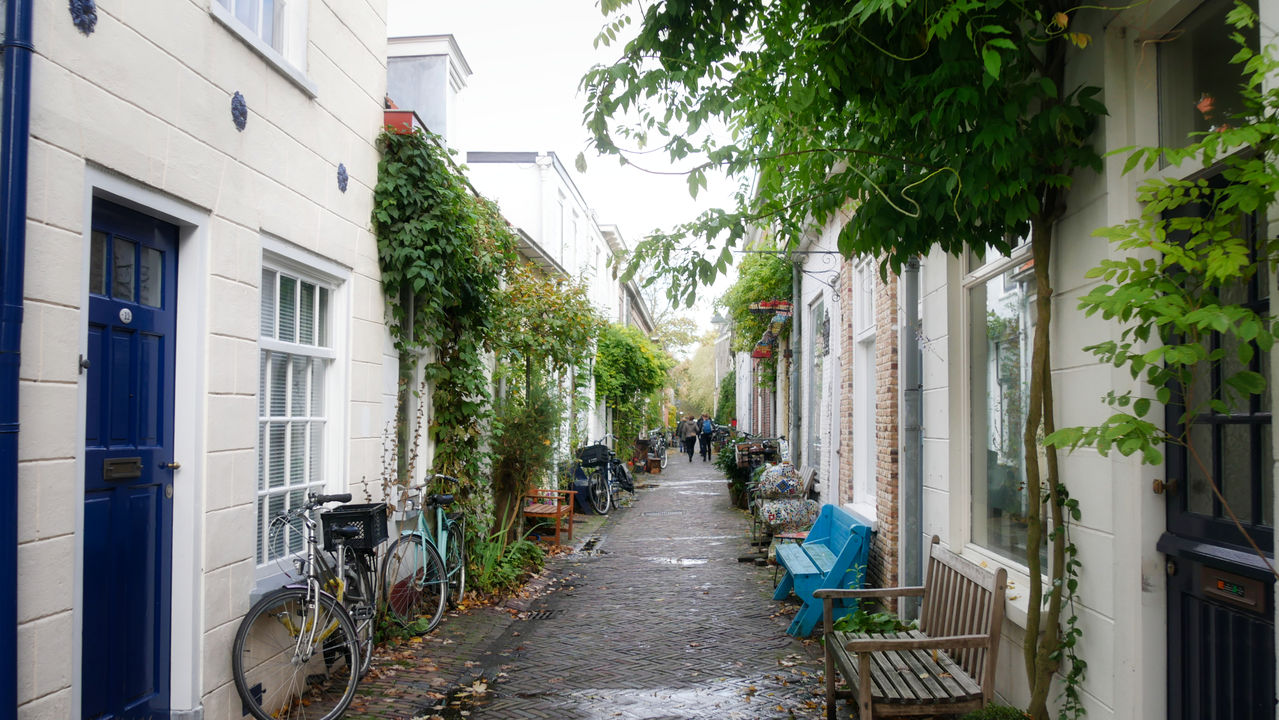 Delft straatjes