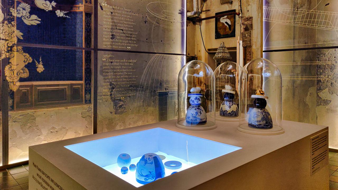 Royal Delft Delfts Blauw museum