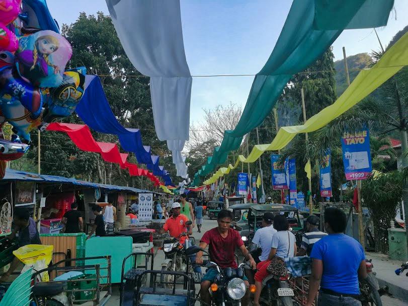 El nido markt Filipijnen