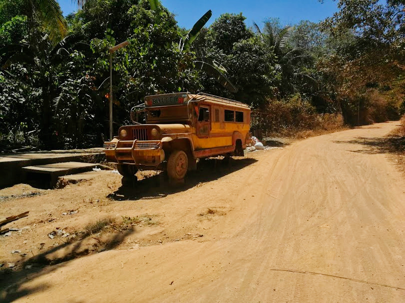Foto schoolbus Filipijnen