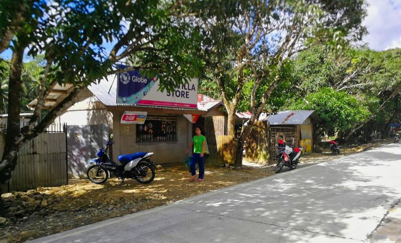 dorpje in siargao Filipijnen