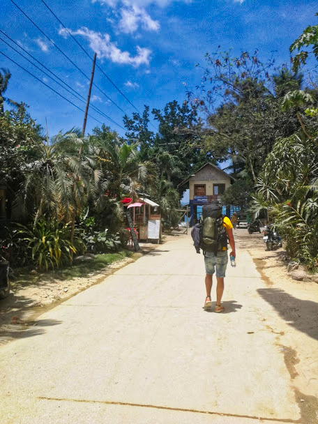 foto backpack port barton Filipijnen