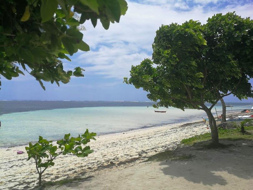 siargao strand Filipijnen