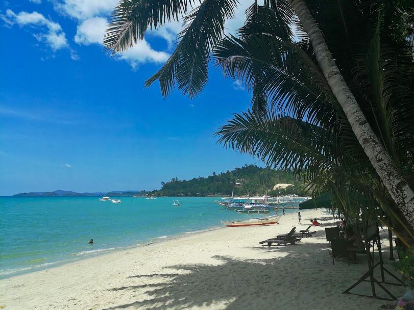 strand portbarton Filipijnen