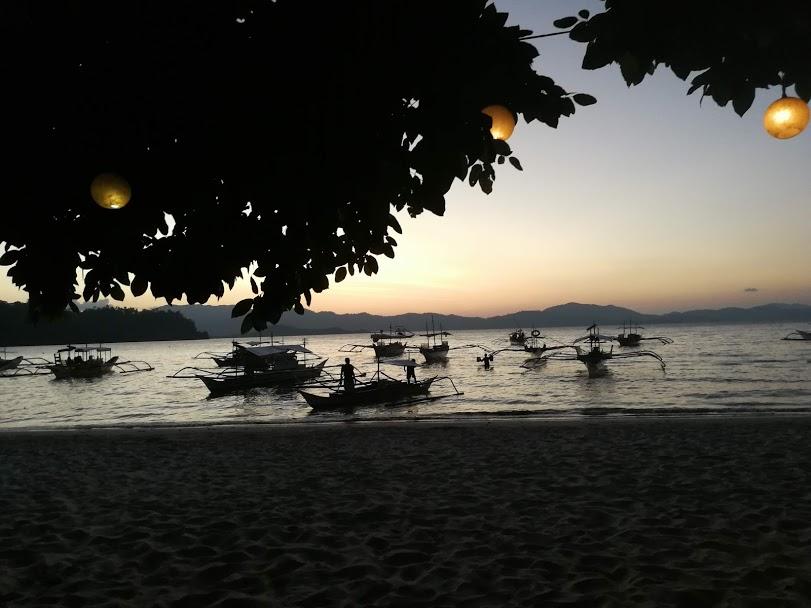 zonsondergang port barton
