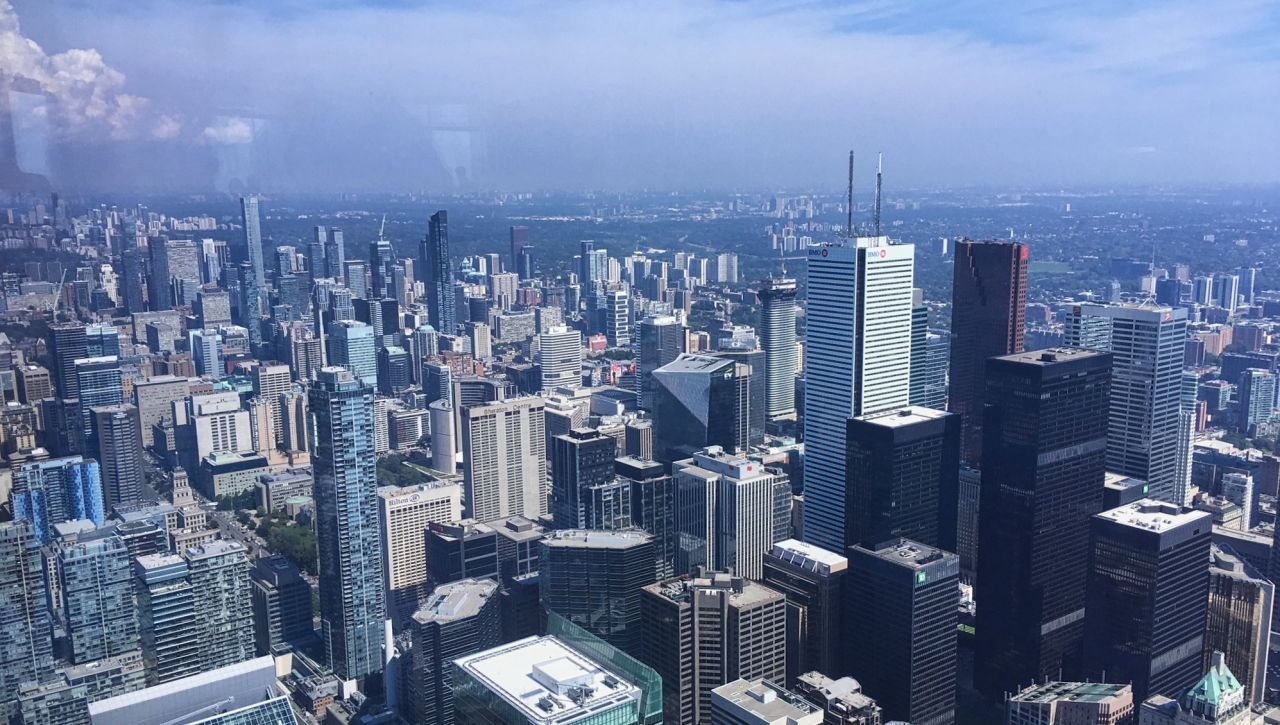 CN Tower Toronto view