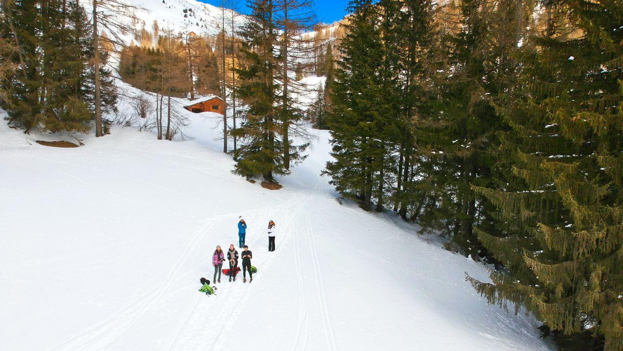 Zuid Tirol Italie Wintersport16