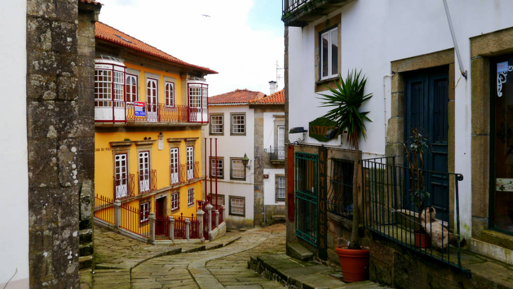 old town Valenca Portugal