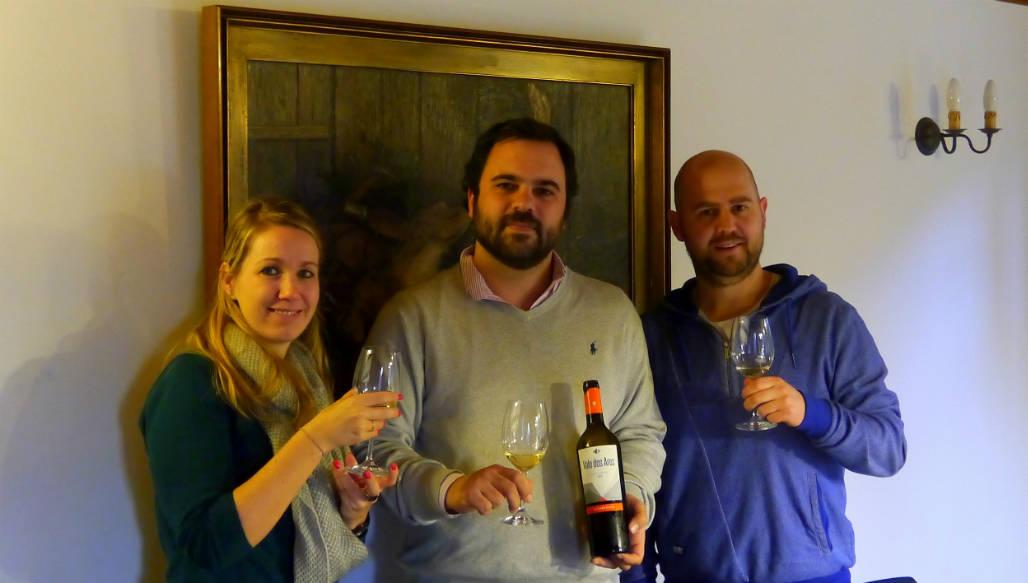 Miguel Vale dos Ares winefarm