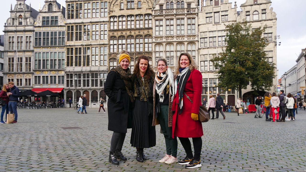 Antwerpen met vriendinnen