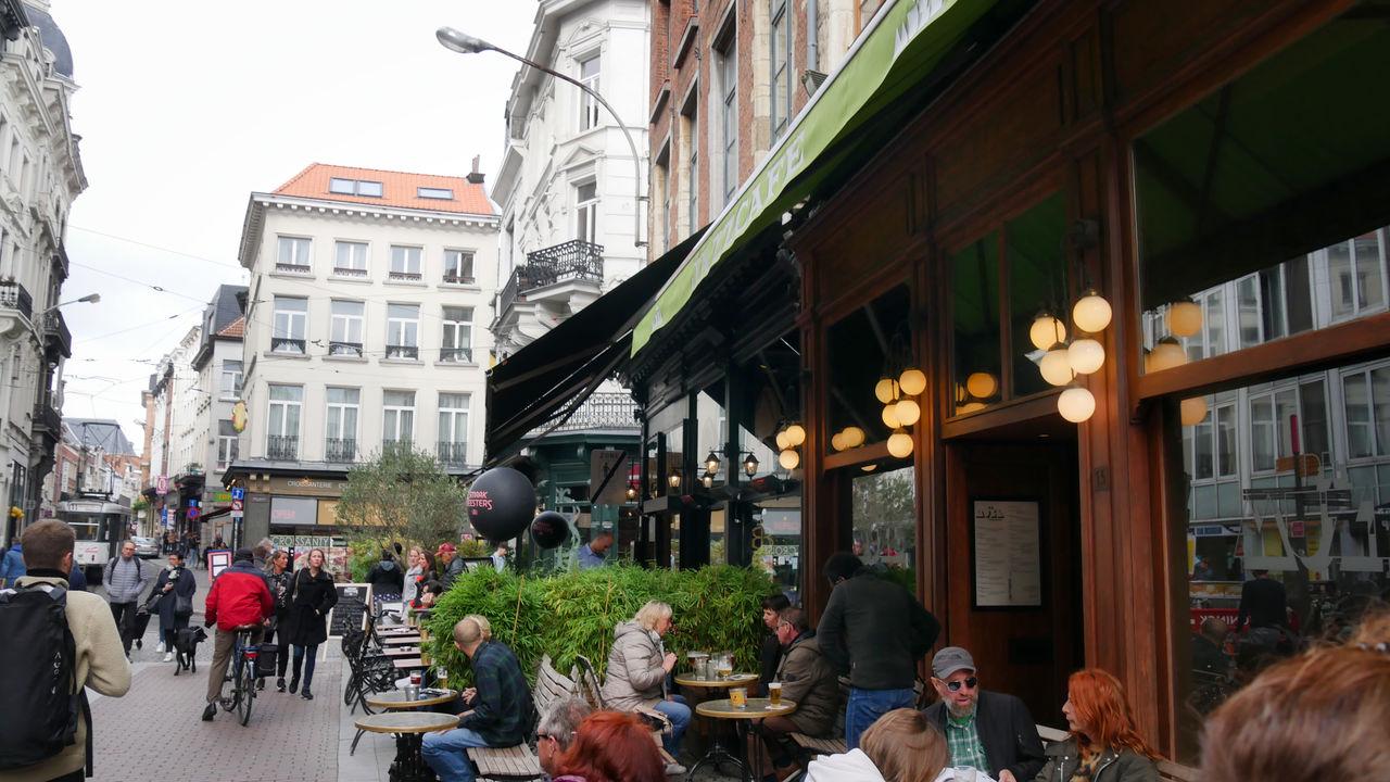 Antwerpen straatbeeld