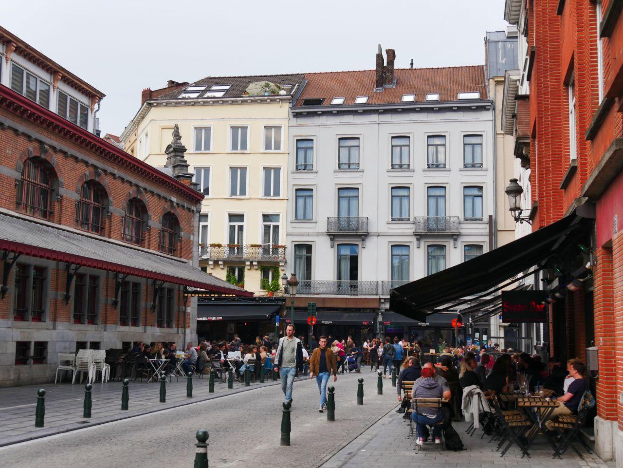 Brussel gezellige wijk