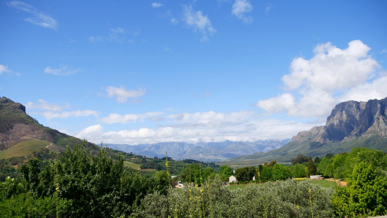 Franschhoek Zuid Afrika