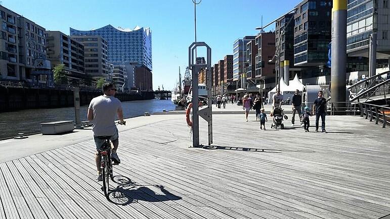 Hamburg op de fiets2