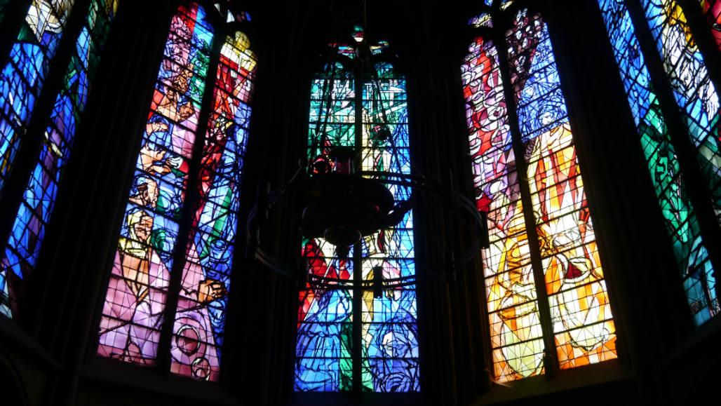 Metz - Soetkees Chagall Glas In Lood