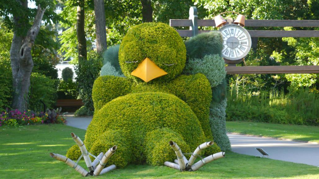 Jardin des plants Nantes