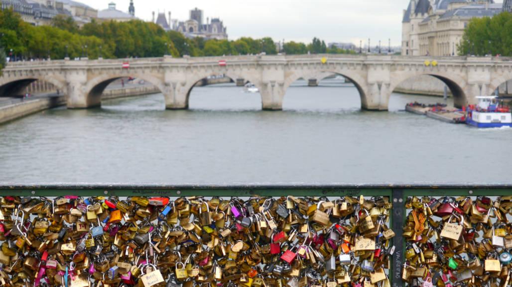 Parijs brug slotjes
