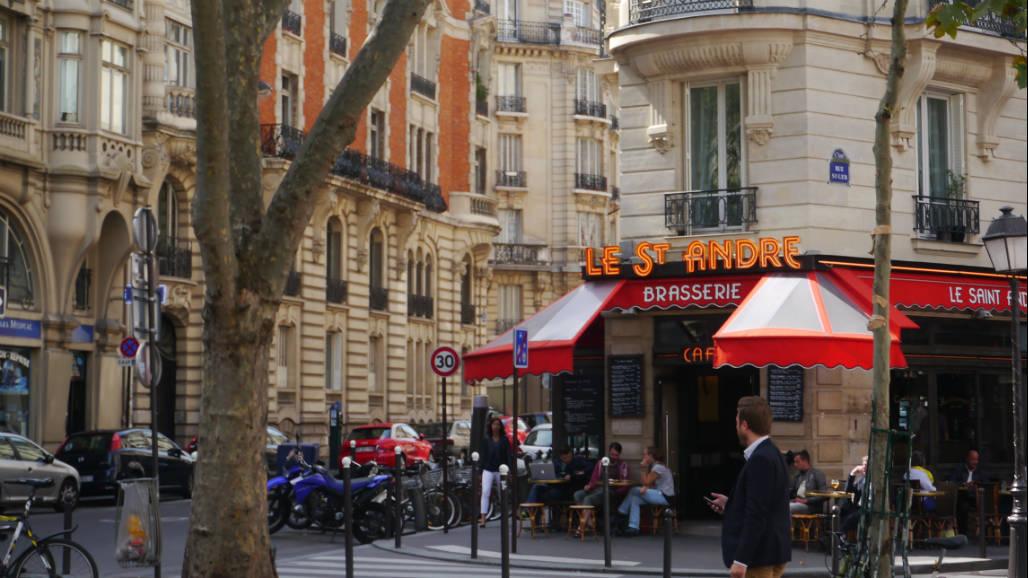 Parijs mooie wijk