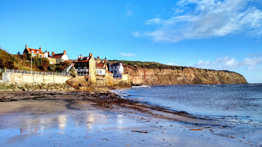 Robin Hoods Bay beach