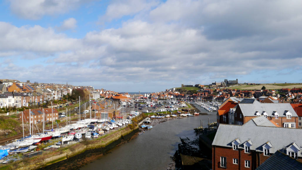 Whitby North England