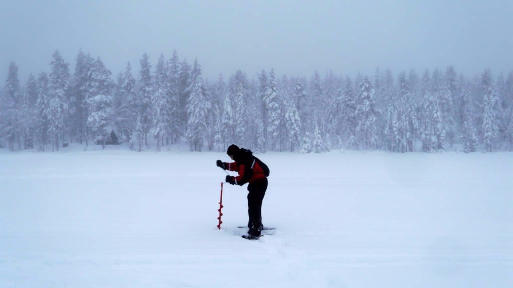 ijsvissen rovaniemi lapland
