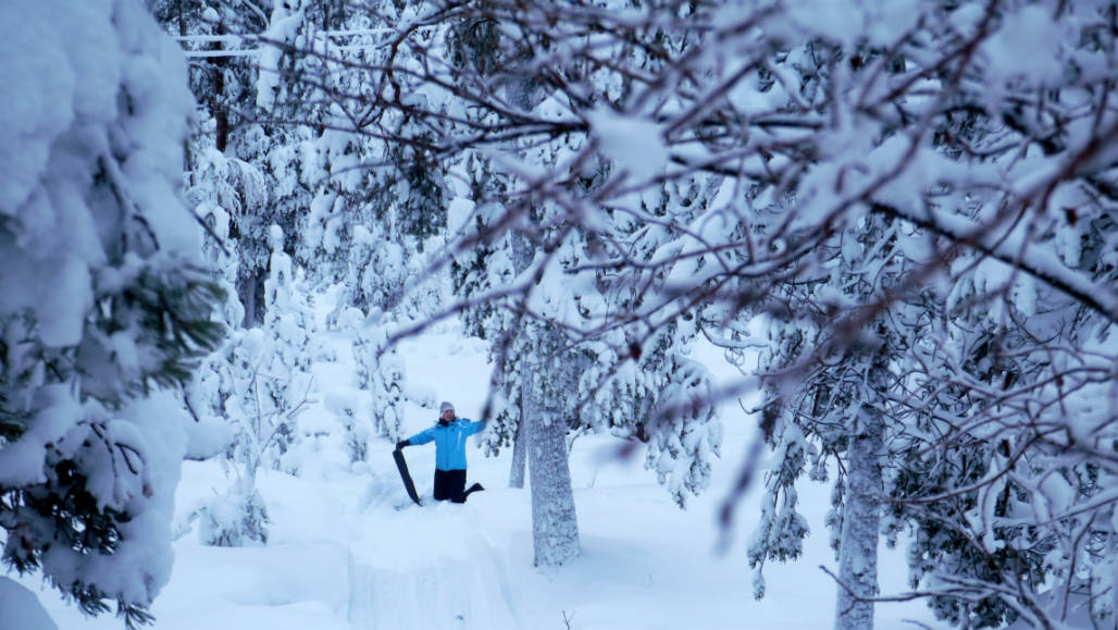 Sleeen activiteit Rovaniemi Lapland