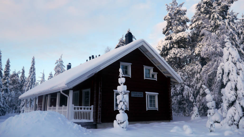 huisje Rovaniemi Lapland