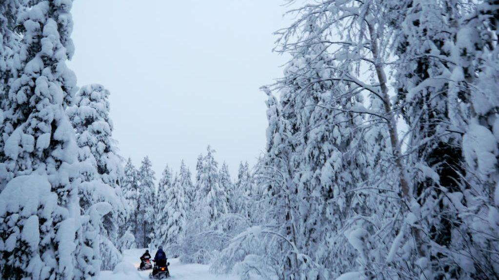 Sneeuwscooter Lapland Safaris