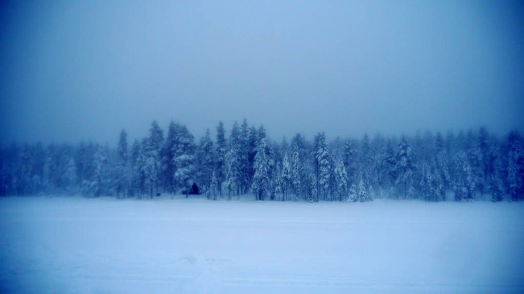 the blue moment Lapland