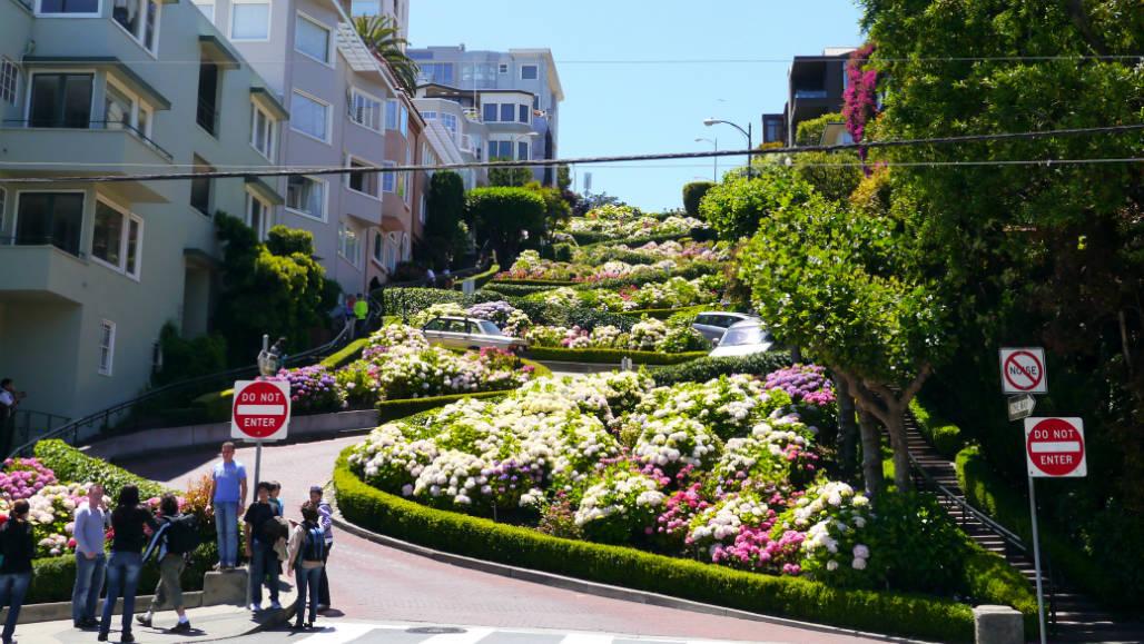 Steilste straat San Francisco