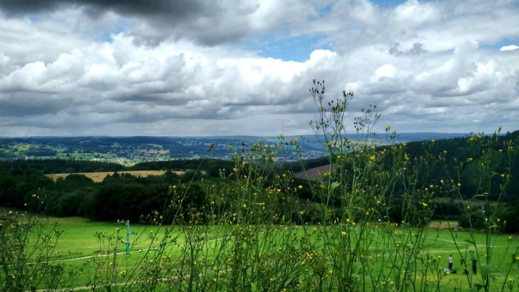 Ardennen natuur uitzicht