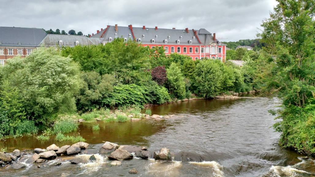 Ardennen rivier Stavelot