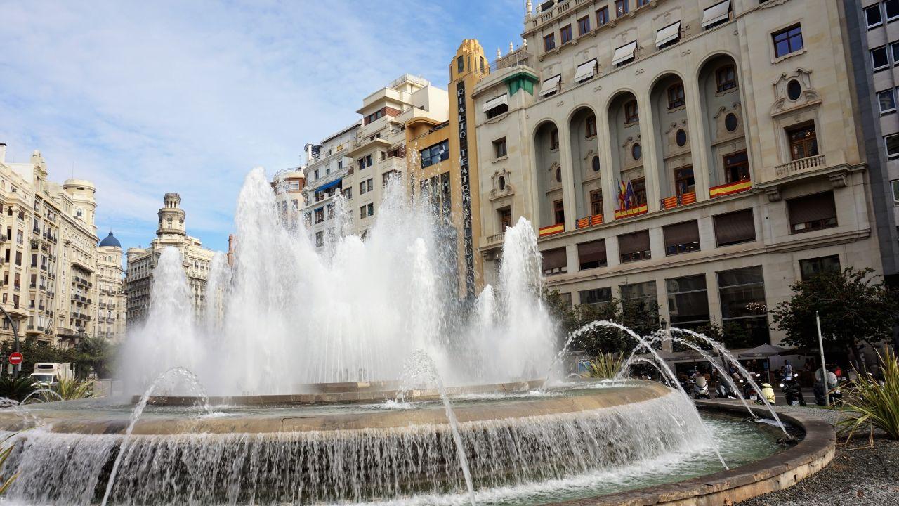 Plaza del Ayuntamiento Valencia2